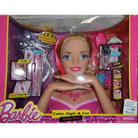 Barbie Deluxe Stylin' Head Blonde Barbie All Dolled Up Deluxe Color
