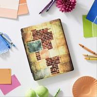 Urban brick wall with faded colors iPad smart cover
