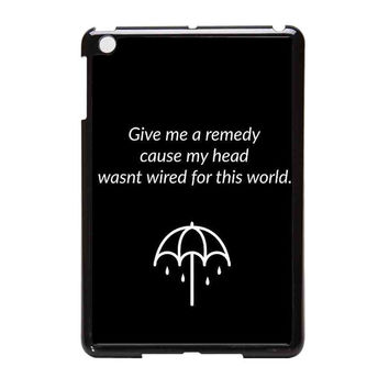Bring Me To The Horizon Bmth Lyrics Logo iPad Mini Case