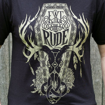 Hannibal Shirt - Eat The Rude T-Shirt - Hannibal T-Shirt - Eat The Rude Shirt