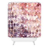 Monika Strigel LILY ROSE MERMAID Shower Curtain