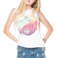 Brandy ♥ Melville |  YinYang tank - Just In