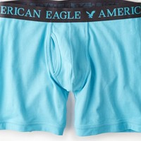 AEO Men's Athletic Trunk (Turquoise)