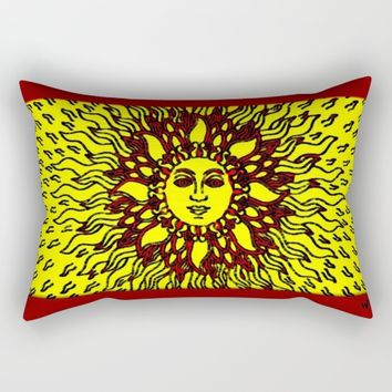 Summer Heat Rectangular Pillow by Jessica Ivy