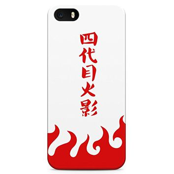 Naruto Fifth Hokage Red Hard Plastic Snap-On Case Cover For iPhone 5 / iPhone 5s / iPhone SE