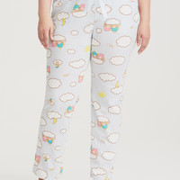 Sanrio Little Twin Stars Sky Blue Pajama Pant