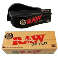 Raw Natural Rolling Papers Cone Filler - 1 1/4 size