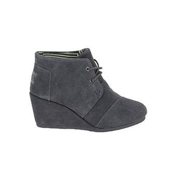 TOMS Womens Desert Wedges Boot