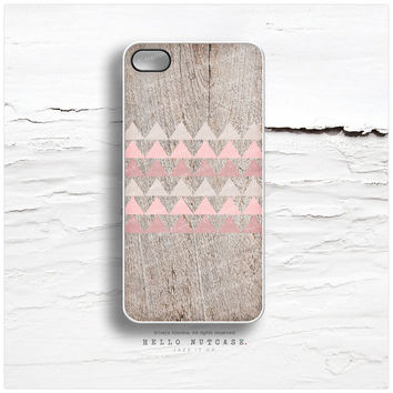 iPhone 6 Case, iPhone 5C Case Wood Print, iPhone 5s Case Chevron, iPhone 4s Case, Geometric iPhone Case, Coral Chevron iPhone Cover T66