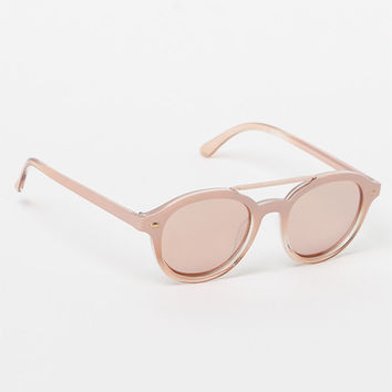 LA Hearts Mirrored Eye Sunglasses at PacSun.com