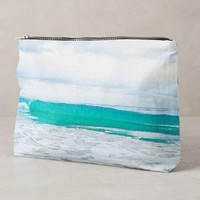 Tulum Tides Pouch by Samudra Hawaiian Blue One Size Clutches