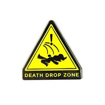 Death Drop Zone Pin