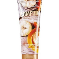 "Bath & Body Works Pumpkin Latte & Marshmallow ""Comfort"" triple moisture body cream 8 oz."
