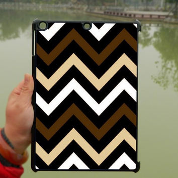 Brown Black Chevron iPad Case,iPad mini Case,iPad Air Case,iPad 3 Case,iPad 4 Case,ipad case,ipad cover, ipad mini cover ipad air,iPad 2/3/4-091
