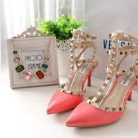 ONETOW Valentino Fashion Heels Shoes