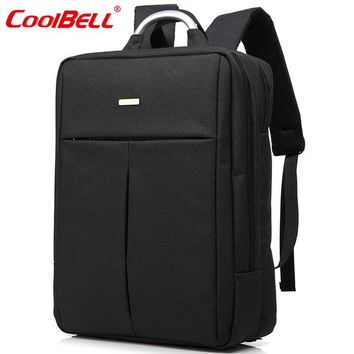 Cool Backpack school CoolBell Waterproof 14.4/ 15.6 inches Laptop Computer Business Bag Backpack Briefcase Nylon Daypack Notebook Bag Men Women AT_52_3