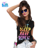 EAT SLEEP RAVE REPEAT shirt