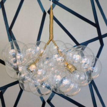 Floating Glass Bubble Chandelier