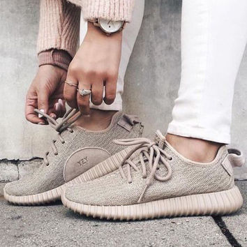 """Adidas"" Women Yeezy Boost Running Sports Shoes Sneakers"