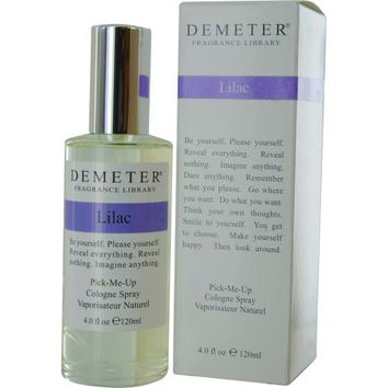 Fragrance UNISEX DEMETER by Demeter LILAC COLOGNE SPRAY 4 OZ