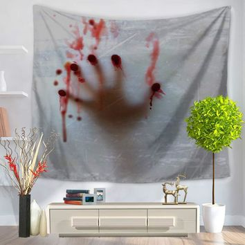 Polyester Tapestry Terror Skull Home Decoration Wall Blankets Wall Tapestry Hippie Tapestry Tapiz Pared Tenture Mural Tapestries