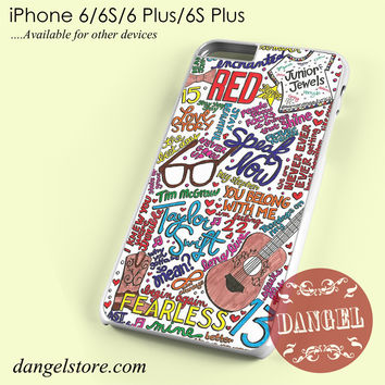 taylor swift collage Phone case for iPhone 6/6s/6 Plus/6S plus