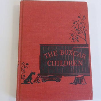 The Boxcar Children Hard Cover Gertrude Chandler Warner 1950 Scott Foresman and Company Childrens' Book Collectible Book