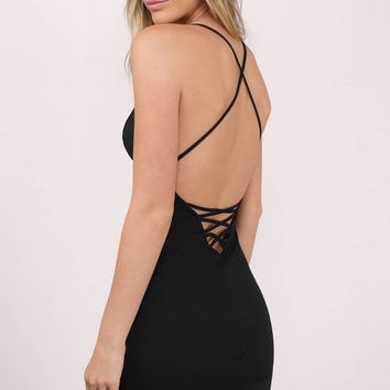 Amalia Plunging Bodycon Dress