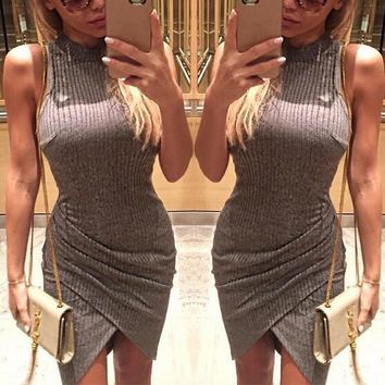Bodycon Sleeveless Fashion Dress