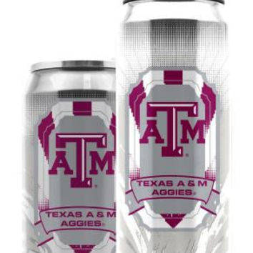 Texas A&M Aggies Stainless Steel Thermo Can - 16.9 ounces