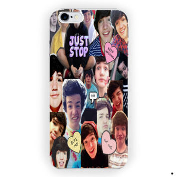 Aaron Carpenter Collage  Magcon Boy For iPhone 6 / 6 Plus Case