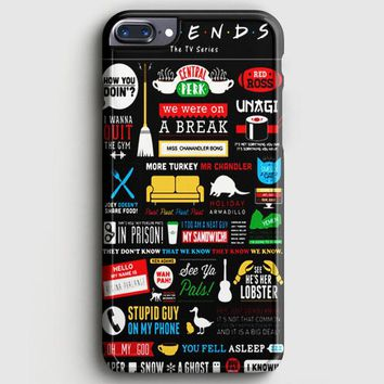 Friends Tv Show iPhone 8 Plus Case | casescraft