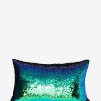 Aviva Stanoff Smoke Mermaid Sequin Pillow