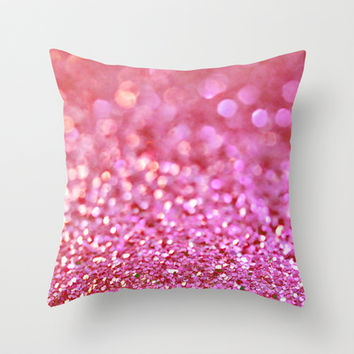 Coral Reef Throw Pillow by Lisa Argyropoulos