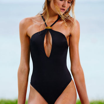 High-neck Keyhole One-piece - Victoria's Secret