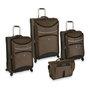 Timberland? 4-Piece Route 4 Luggage Set in Cocoa