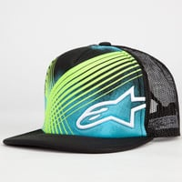 Alpinestars Nielsen Boys Trucker Hat Black One Size For Women 23479710001