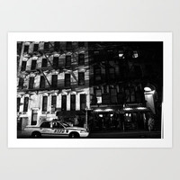 NYPD Art Print by Megan LaCroix