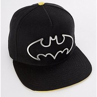 Metal Batman Logo Snapback - DC Comics - Spencer's