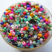 Hot Mixed Colors Shining 1000Pcs 2mm Czech Glass Seed Spacer Beads Jewelry Making DIY Pick 46 Colors