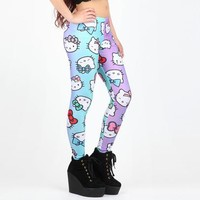 Japan LA x Hello Kitty Leggings: Bows