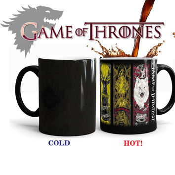 Game Of Thrones Color Changing Tribal Totem Mug