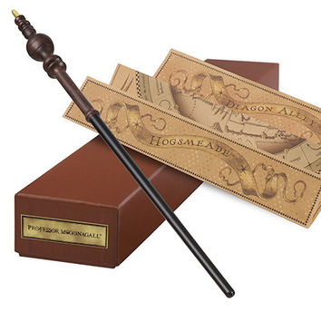 Universal Studios Interactive Professor McGonagall Wand Harry Potter New w Box