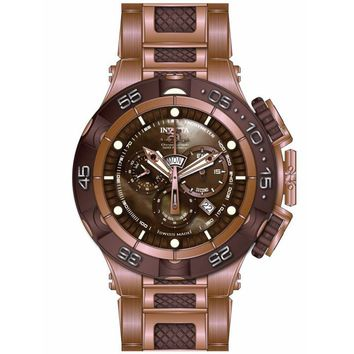 Invicta 15920 Men's Subaqua Noma V Quartz Chronograph Brown Dial Dive Watch