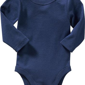 Old Navy Long Sleeve Bodysuits For Baby