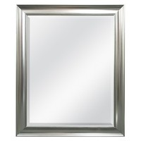 Threshold™ Silver Beaded Wall Mirror