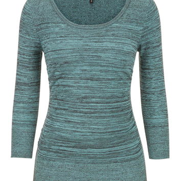 the pullover with spacedye fabric in meadowbrook