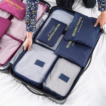 FADISH packing cubes travel bags hand luggage duffle bag women maletas de viaje designer carry on sacoche homme necessaire