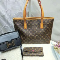 Year-End Promotion 3 Pcs Of Bags Combination (LV Handbag ,Hermes Bag ,Lv Wallet)