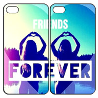 Best Friends ForeverSamsung Galaxy S3 S4 S5 S6 Edge Note 3 4 , iPhone 4 4S 5 5s 5c 6 Plus , iPod Touch 4 5 , HTC One M7 M8 M9 ,LG G2 G3 Couple Case